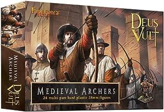 FIREFORGE GAMES Deus Vult Medieval Archers 28mm Plastic Figures