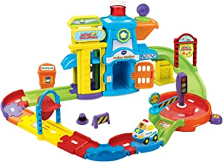 VTech Toy Children Ages 1 to 5 Go Go Smart Wheels Police Station Playset Toy for Kids