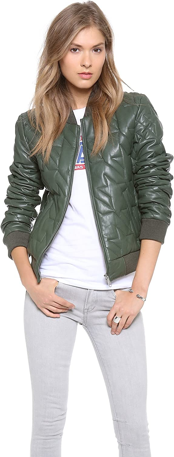 Rebecca Minkoff Women's Nova Quilted Leather Jacket