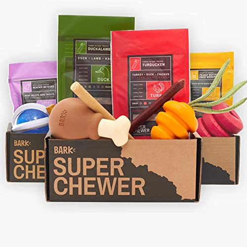 Super Chewer - The Toughest And Most Durable Dog Toys and Treats