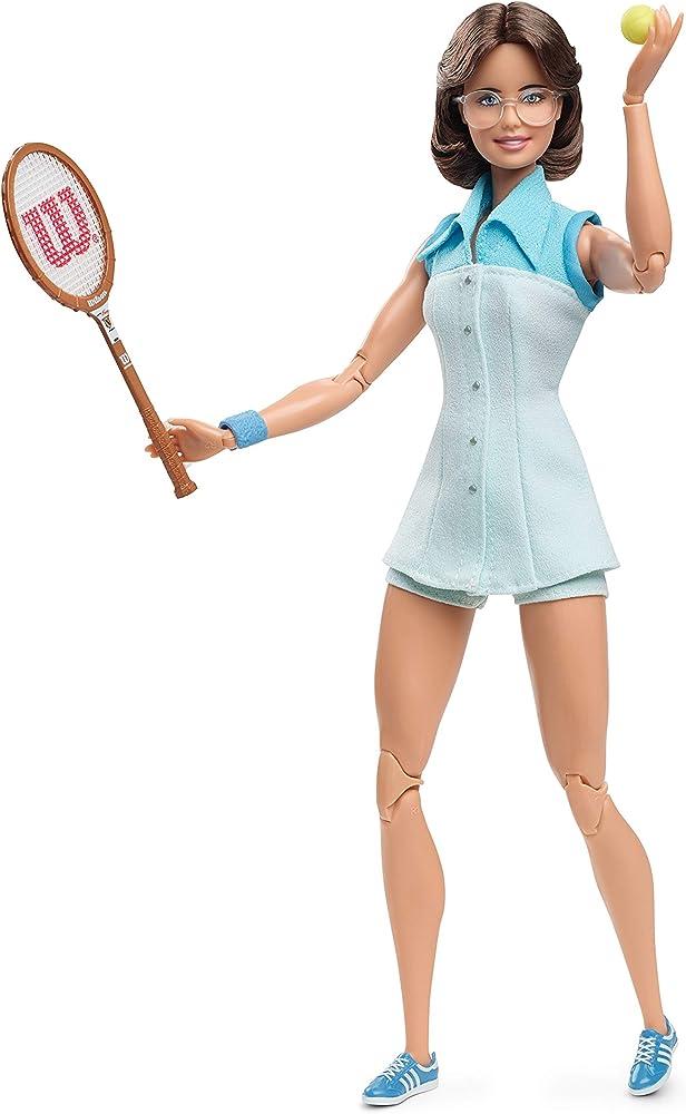 Barbie-, inspiring women, billie jean king bambola da collezione GHT85
