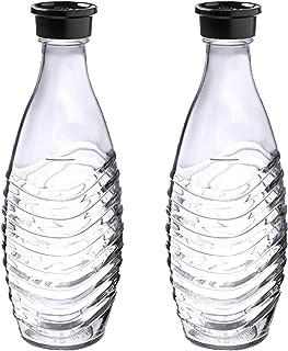 Sodastream 1047200490 flaska, glass, genomskinlig, 2 x 600ml