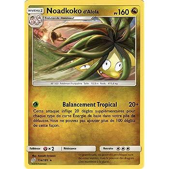 Noadkoko dAlola 160 PV 115//181 Carte Pok/émon SL9/ Rare