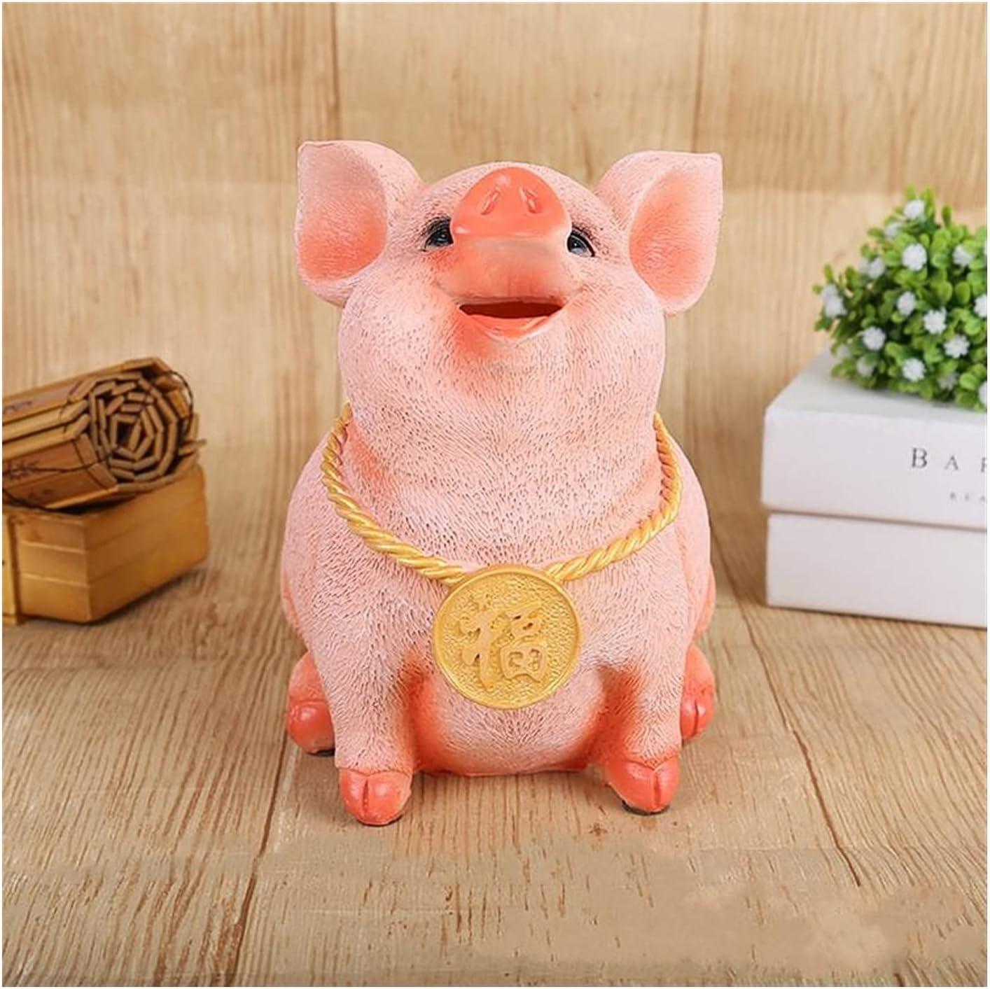 ZQDMBH Piggy Bank San Diego Mall El Paso Mall Resin Crafts Pig Banks