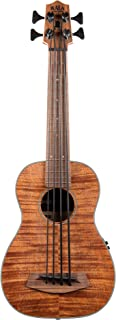 Kala U-Bass Exotic Mahogany - Fretted, Left-Handed