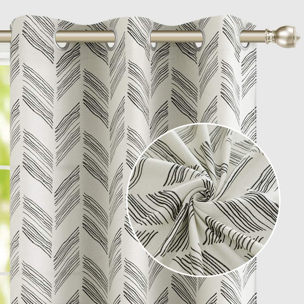 Vintage Jacquard Curtains 45 Inches for Room Living Long Online limited product Bedroom Classic