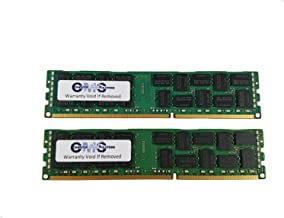 8Gb (2X4Gb) Memory Ram Compatible with Dell Poweredge T310 Ecc Reg Buff For Servers Only By CMS B40