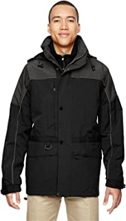 Mens 3-in-1 Two-Tone Parka (88006)