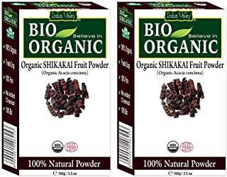 Shikakai Powder by Indus Valley for skin and hair care(200 gm)