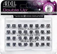 Ardell Double Up - Knotted Flare Trios - Medium Black