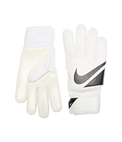 Nike Kids Match Jr FA20 (Little Kid/Big Kid) (White/Black/Black) Extreme Cold Weather Gloves