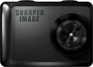 Sharper Image SVC555BK 720P Action Cam with Waterproof Case, Includes Bike and Helmet Mount (Black)