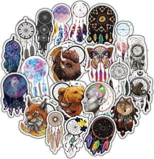 Dreamcatcher Stickers for Water Bottles 57-Pack | Cute,Waterproof,Aesthetic,Trendy Stickers for Teens,Girls | Perfect for Waterbottle,Laptop,Phone,Travel | Extra Durable 100% Vinyl (Dreamcatcher)