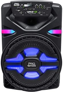 "$119 » Sponsored Ad - Pro Bass Wave 12, Portable Audio System 12"", True Wireless Stereo, MP3 Player, Battery Powered, Bluetooth, ..."