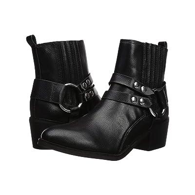 Steve Madden Reeva Western Bootie (Black) Cowboy Boots