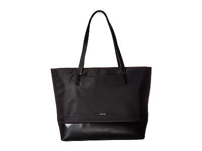 Lodis Accessories Nylon Sports Fabia Tote (Black) Tote Handbags