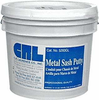 CRL 5283GL Gray Metal Sash Putty - 3 Gallon