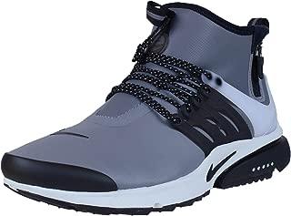 Mens Air Presto Mid Utility Cool Grey/Black Off White Volt Running Shoe 10 Men US