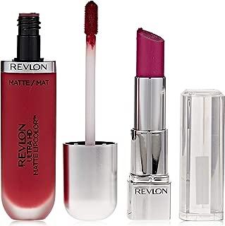 Revlon Ultra HD Matte Lip Color Passion Promo Pack, Orchid