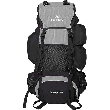TETON Sports Explorer 4000 Internal Frame Backpack; High-Performance Backpack for Backpacking, Hiking, Camping