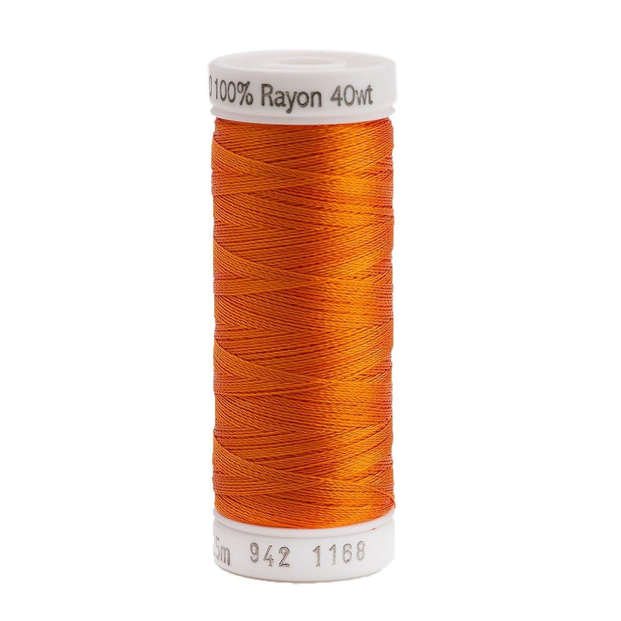 Sulky Rayon Thread for Sewing, 250-Yard, True Orange