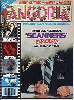 Fangoria Magazine 10 SCANNERS Mighty Joe Young RAY HARRYHAUSEN Dick Smith Makeup TEX AVERY January 1981 (Fangoria Magazine)