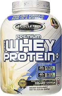 MuscleTech Premium 100% Whey Protein Powder, Vanilla Flavour, 2.27kg (57 Servings)
