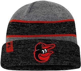 de2b327f59f New Era MLB Baltimore Orioles Sport Stocking Knit Hat Beanie Skull Cap  Black Gray