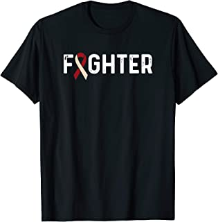 Oral Cancer Awareness Products Ribbon Fighter T-Shirt