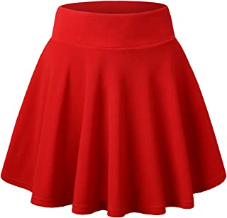 Faldas para Niñas Tutus Cortos Fantasia Ballet bailes Danza Princesa Primavera Verano Otoño Invierno 2019 Tallas 4 5 6 7 8 9 10 11 12 13 14 Años Todo de Rojo