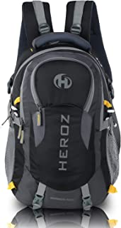 HEROZ Hammer Unisex Nylon 45 L Travel Laptop Backpack Water Resistant Slim Durable Fits Up to 17.3 Inch Laptop Notebook (All) (Grey & Black) - Buy HEROZ Hammer Unisex Nylon 45 L Travel Laptop Backpack Water Resistant Slim Durable Fits Up to 17.3 Inch Laptop Notebook (All) (Grey & Black) Online at Low Price in India - Amazon.in
