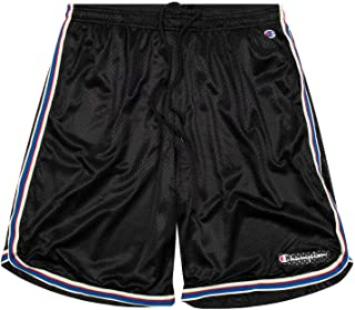 Champion Shorts, Big and Tall Shorts for Men, Classic Mesh Mens Shorts Black