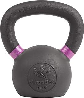 KingsBox Kettlebell丨Verniciatura in Polvere, Marcature Colorate del Peso丨Allenamento per Tutto Il Corpo丨Cardio, Brucia Gra...