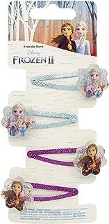Disney Frozen 19382 2–4 hårspännen, flerfärgad