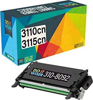 Do it Wiser Compatible Toner Cartridge Replacement for Dell 3110cn 3115cn 3110 3115 | 310-8092 - High Yield 8,000 Pages (Black)