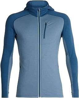 Icebreaker Merino Men's Quantum Long Sleeve Zip Hoodie, Merino Wool