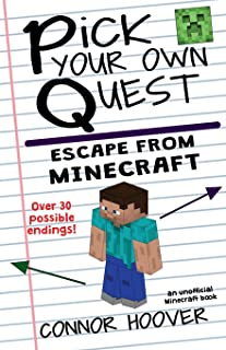 Pick Your Own Quest: Escape From Minecraft (Volume 2)