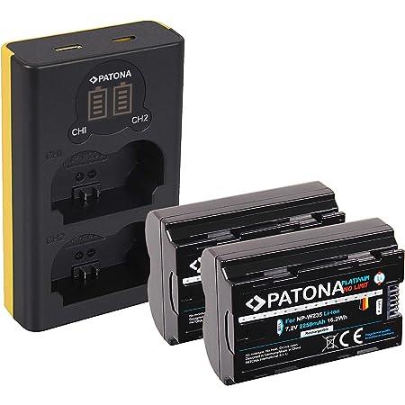 Patona Dual Lcd Usb Ladegerät Mit 2x Np W235 Platinum Kamera