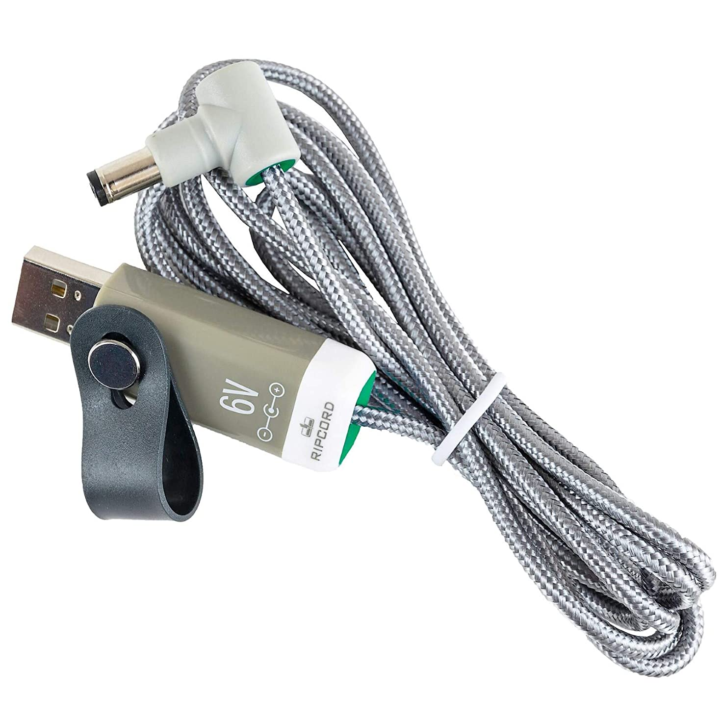 myVolts Ripcord - USB to 6V DC Power Cable Compatible with The VTech VM312 Baby Monitor