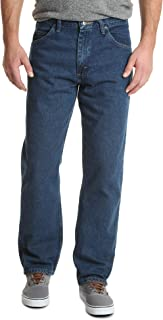 Authentics Men's Big & Tall Classic 5-Pocket Relaxed Fit Cotton Jean