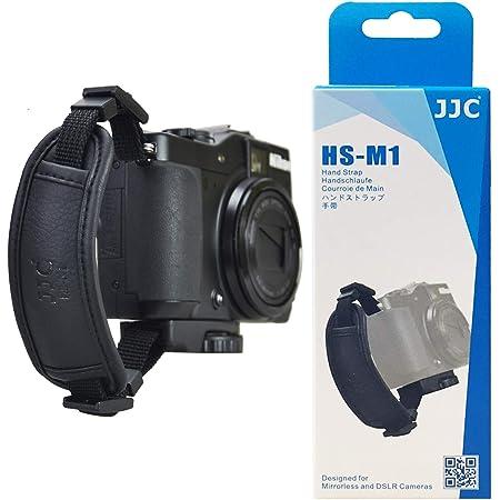 Jjc Hs M1 Mikrofaser Pu Leder Handschlaufe Für Kamera Elektronik
