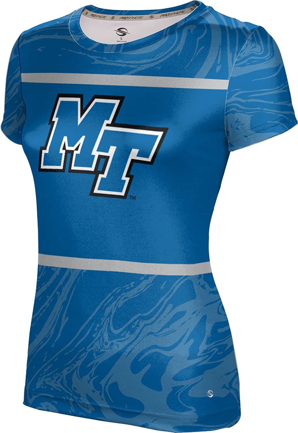 ProSphere Middle Tennessee State University Girls' Performance T-Shirt (Ripple)