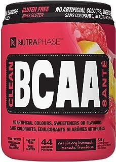 Nutraphase Clean BCAA, Vegan-Friendly, Gluten-Free, Raspberry Lemonade, 44 servings, 528 grams