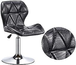 JYHS Barkruk verstelbare bureaustoel, met rugleuning comfortabele barkruk kantoor thuisgebruik boek kamer bibliotheek comp...