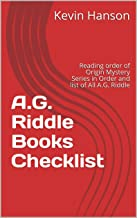 A.G. Riddle Books Checklist: Reading order of Origin Mystery Series in Order and list of All A.G. Riddle (English Edition)