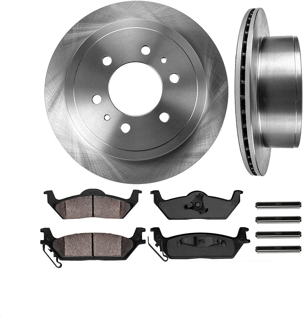 COCOME Customized Rear Elegant Brake Disc 2WD Pads4WD Rotors Ceramic 5 ☆ very popular com