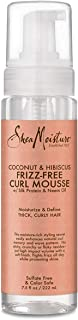 Shea Moisture Coconut and Hibiscus Frizz-Free Curl Mousse, 222 ml