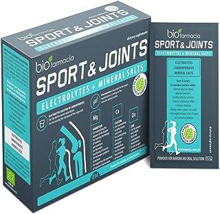 Sport & Joints Electrolitos y sales minerales del Mar Muerto | Citrato de Magnesio 150mg| Citrato de potasio 150mg | Citrato de calcio 120mg | Citrato de sodio 575mg| Citrato de zinc 10mg - 14 sobres