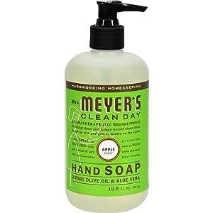 Mrs. Meyer's Mrs. Meyer's Liquid Hand Soap, Apple, 12.5 Ounce