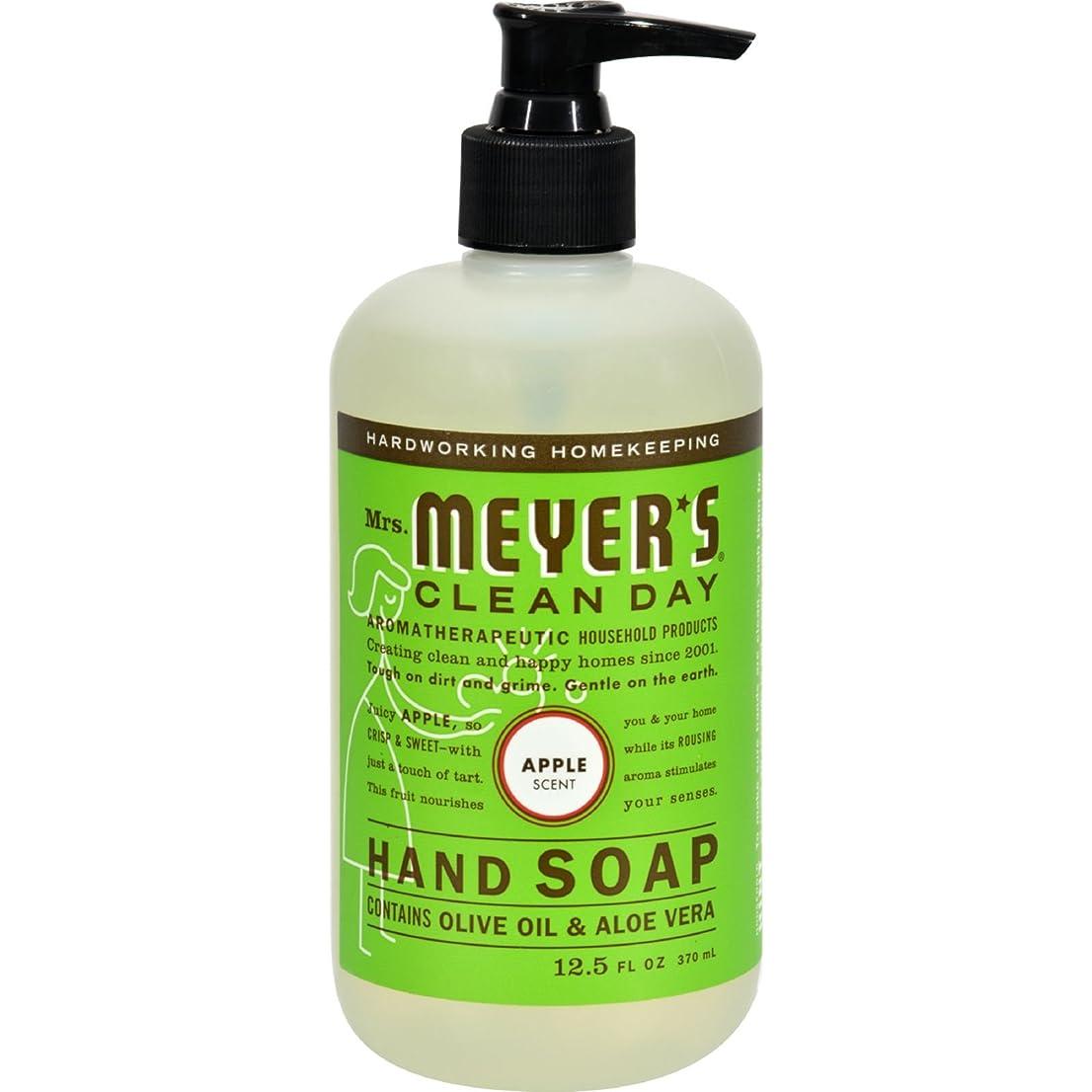 マイコン通常僕のLiquid Hand Soap - Apple - Case of 6 - 12.5 oz by Mrs. Meyer's